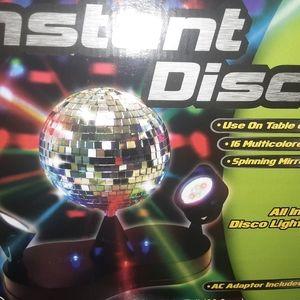 INSTANT DISCO BALL